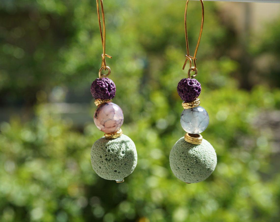 colourful earrings 1
