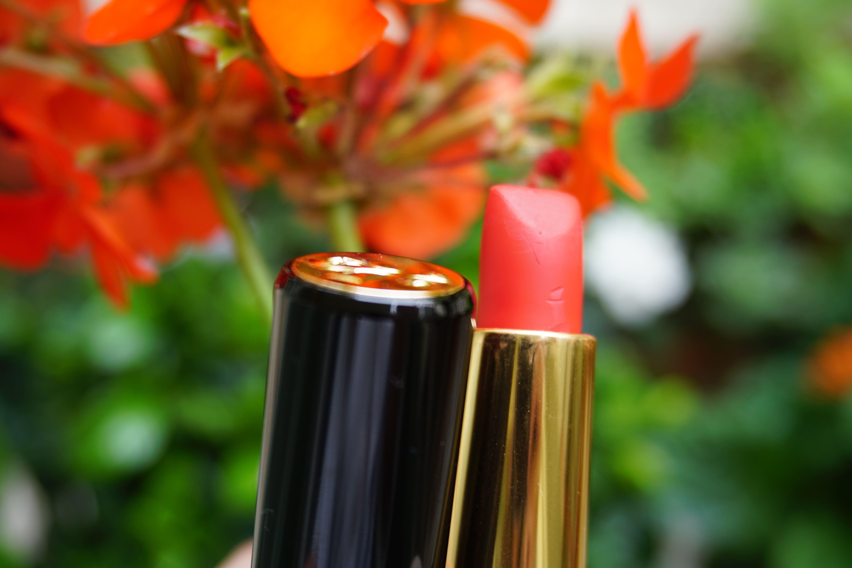 Lancome Idole - summer red lipstick
