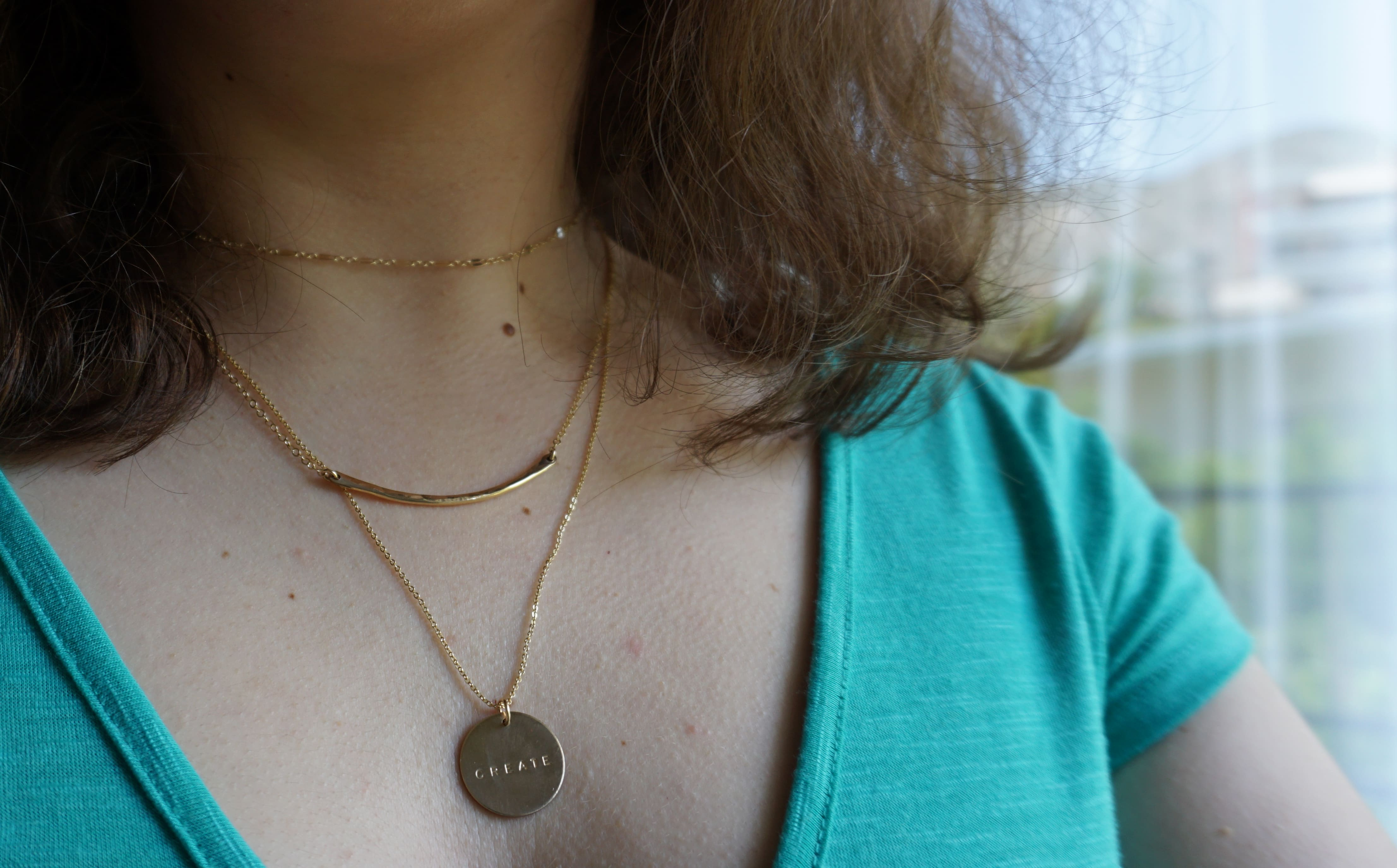 Made By Mary necklaces Layered