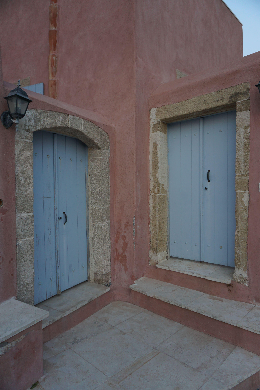 Kythera Chora Doors