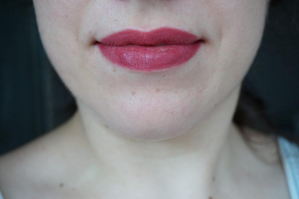 Amazing Amal on lips