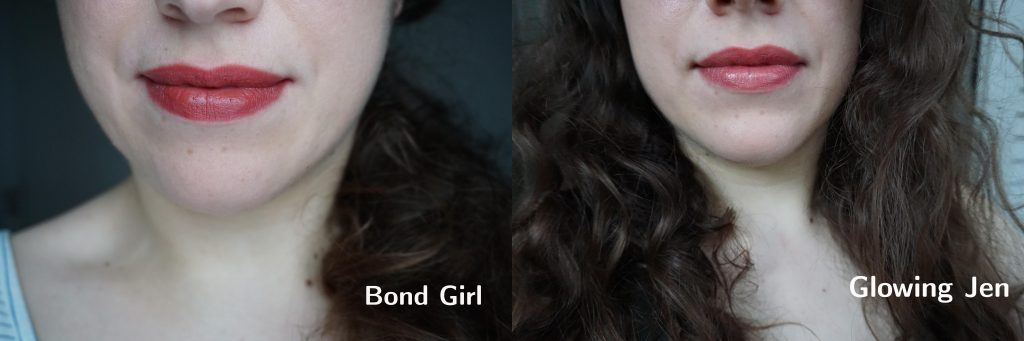 Bond Girl vs Glowing Jen