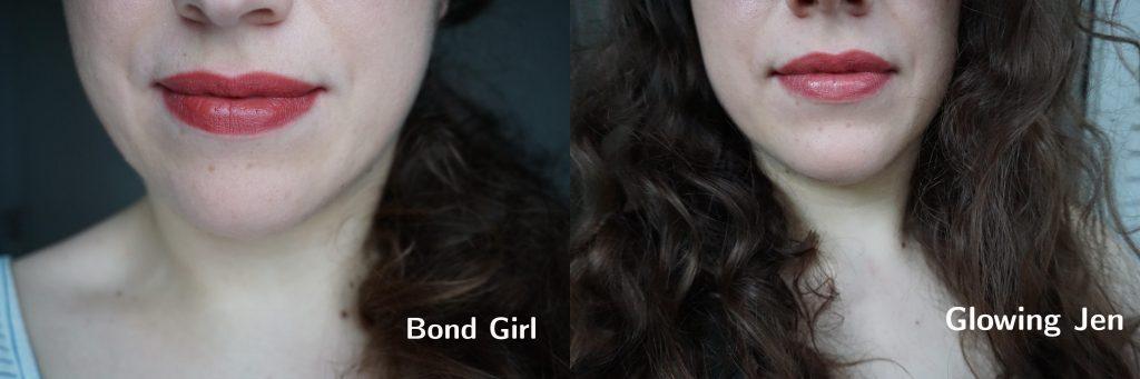 Bond Girl vs Glowing Jen