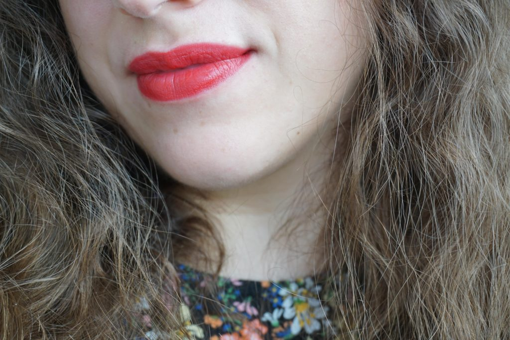 Patsy Red on Lips