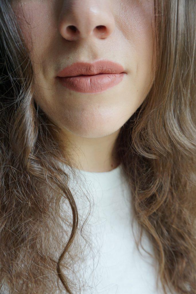 Velvet Fawn on lips