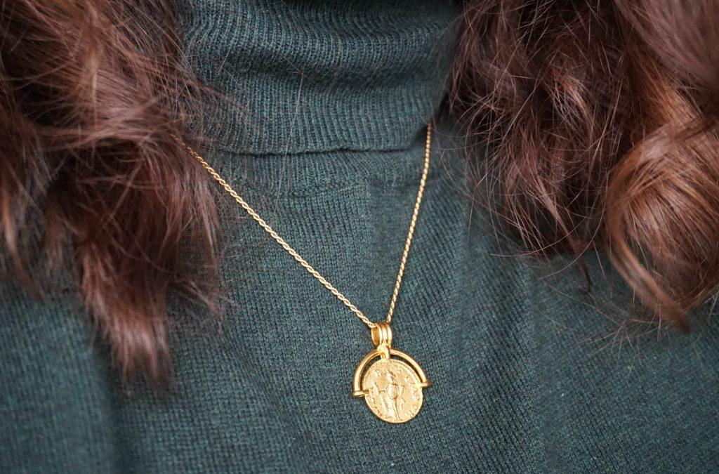 Missoma Roman Arc Coin Necklace