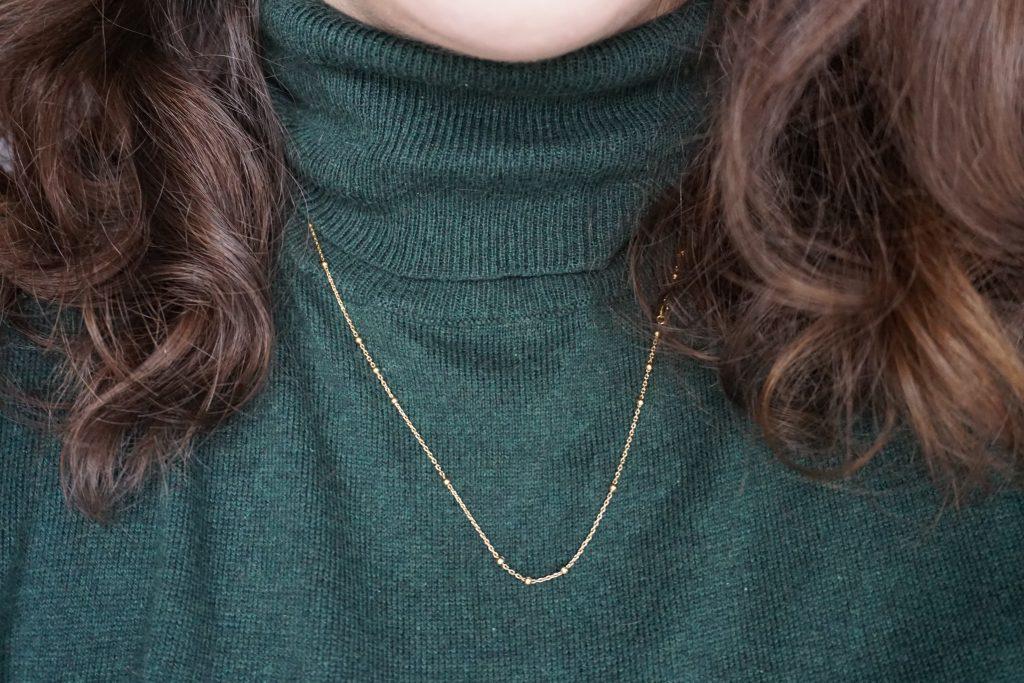 Missoma Gold orb chain