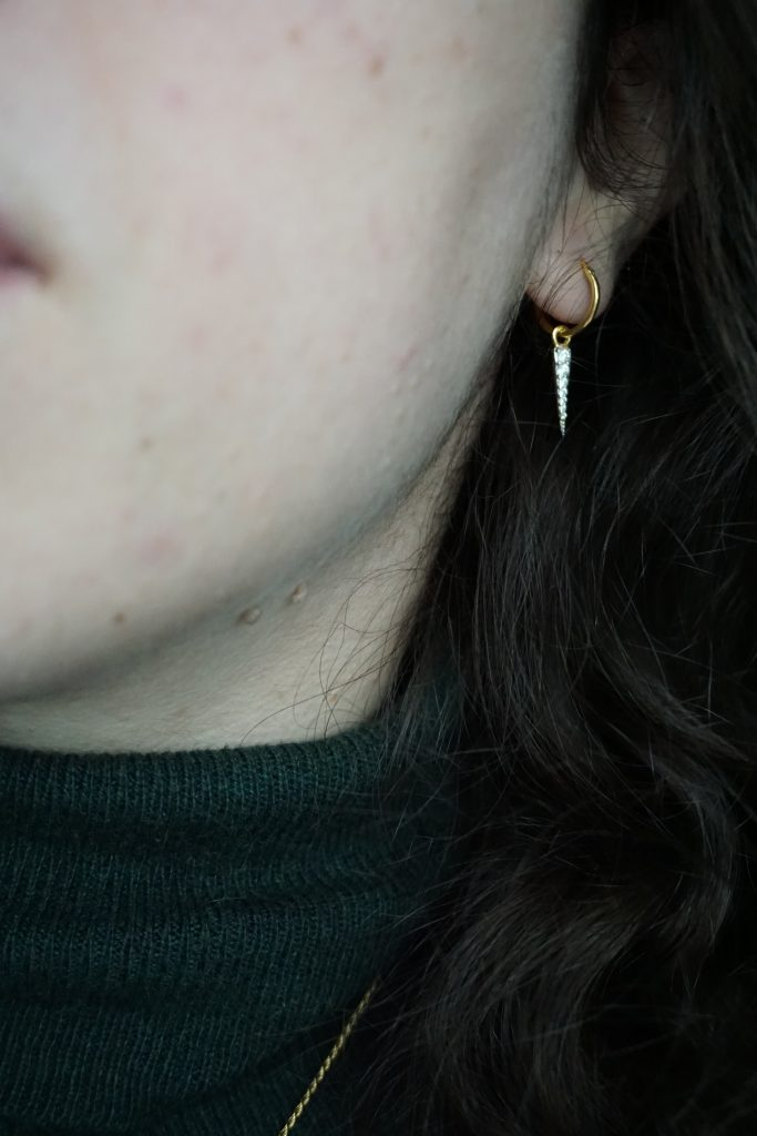 Missoma Pave Spike Earrings
