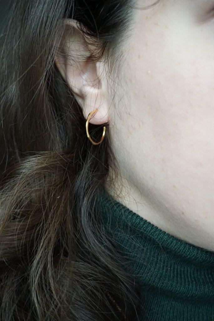 Missoma Small Molten Earrings