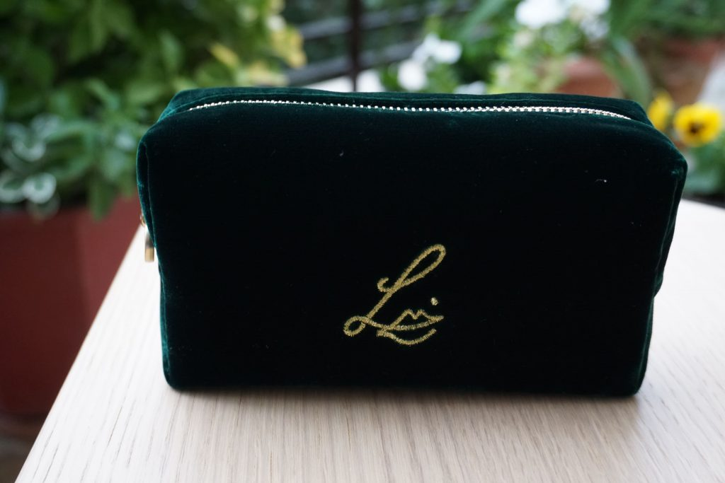 Lisa Eldridge Green Makeup Bag