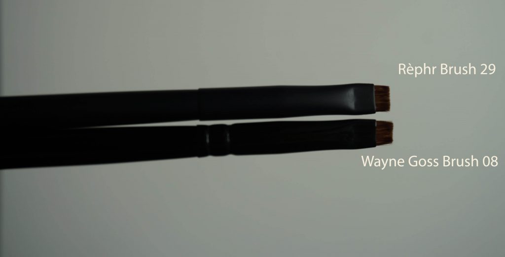 Rephr brush 29 vs Wayne Goss 08 sideways