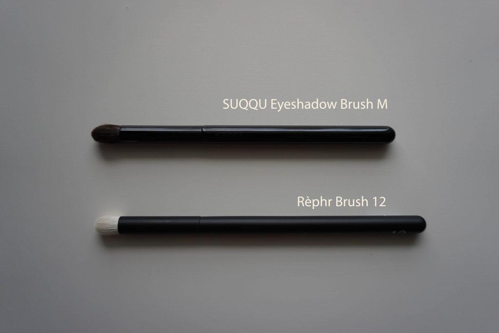 Rephr brush 12 vs Suqqu M