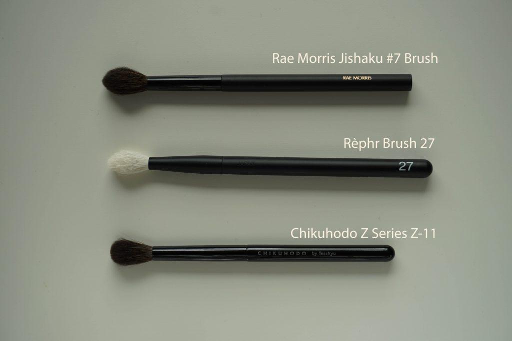 Rephr brush 27 vs Rae Morris Jishaku 7
