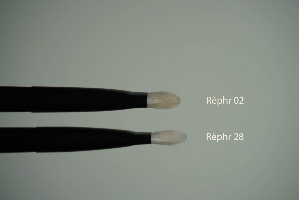 Rephr brush 02 vs 28 side ways