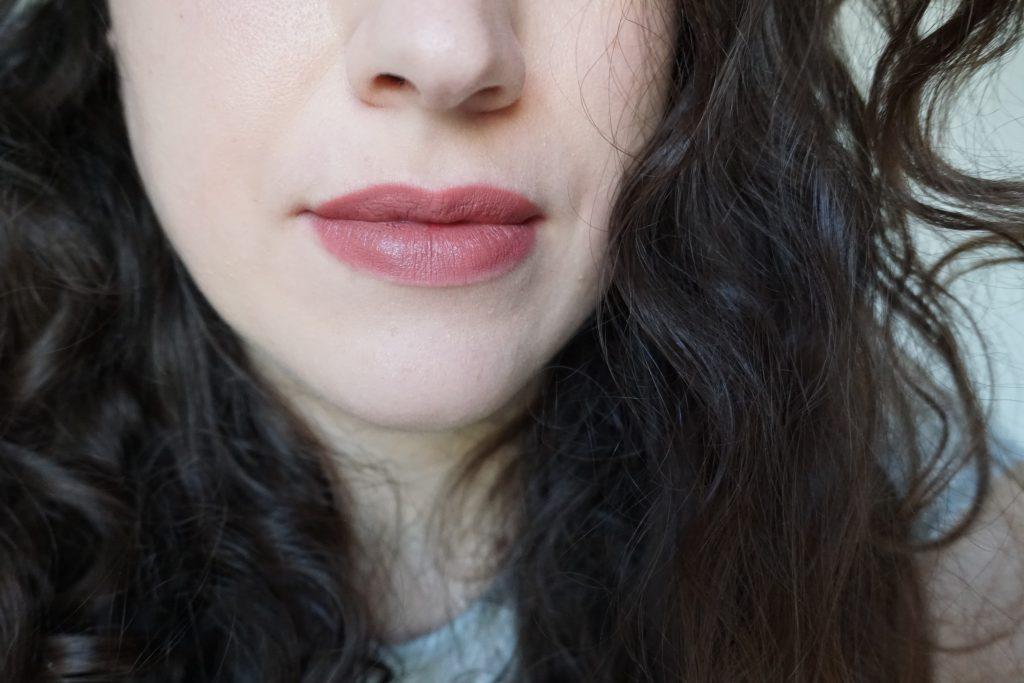 Omi Lipstick Pat MAcGrath on lips