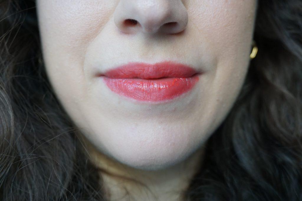 Lisa Eldridge Atomic Cherry lip swatch